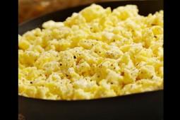 Huevos revueltos perfectos