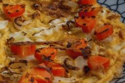 Tortilla de zanahorias