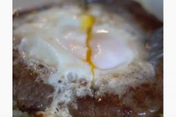 Hamburguesas con huevo