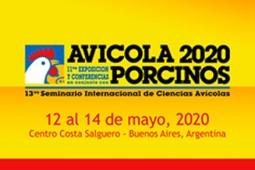 Postergan Exposición Avícola&Porcinos 2020